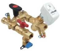 DZR H Block C/W Automatic Flow Balancing (PN25 –10°C+120°C—FBSPP Ends)