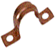 Copper Saddle Clip