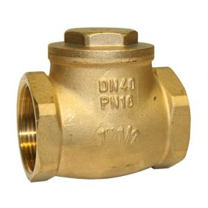 Brass Swing Check Valve (16 Bar rated –20°C+90°C—FBSP)