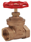 Brass Gate Valve BS5154  (20 Bar rated –10° C  + 180° C- Taper FBSP)