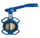 Butterfly Valve Wafer type (EDPM Liner Zinc Plated Disc )