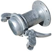 Lever Lock Coupling  Male FlangedPN16 C/W Closure ring