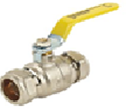 Brass Ball Valve (PN25–10°C+110°C—Compression)