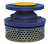 Cast Iron Flanged Foot Valve & Strainer (PN16  –10° C  + 110° C)