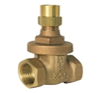 Bronze Approved Lock Shield Valve 20 Bar Rated BS5154 (20 Bar rated –10° C+180°