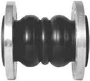 Galv PN16 Flexible Coupling x Flanged EDPM/NBR Body