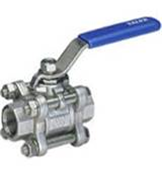 Stainless Steel Ball Valve (1000 PSI—10°C+180°C 3 Piece FxF BSP)
