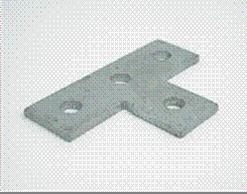 T Plate 4 Hole
