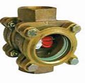 Bronze Flow Indicator / Rotary TypeFxF BSP(PN16–10°C+150°C—FBSP Rotary Type)
