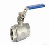 Stainless Steel Ball Valve (1000 PSI—10°C+180°C 2 Piece FxF BSP)