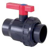 Single Union Ball valve x FBSP PE– EPDM  PN16 - PN10 Economy