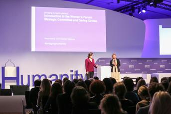 Prométhée Education débarque au Women's Forum
