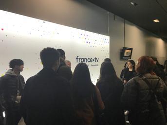 Visite du Groupe France TV