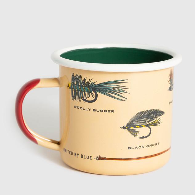 Let's Fly Enamel Mug