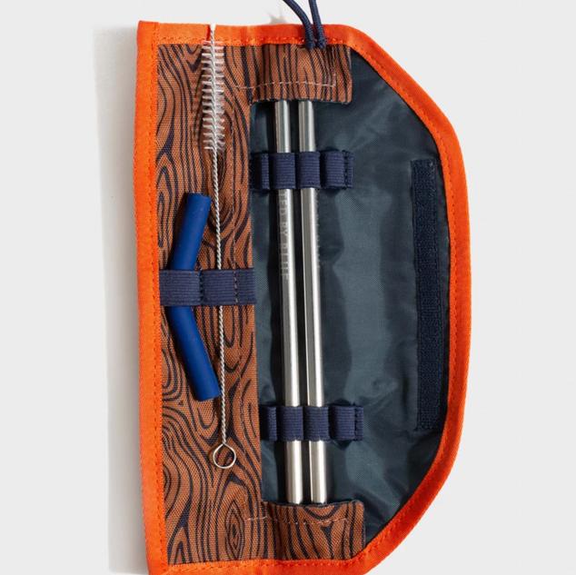 Tree Grain Pattern Straw Kit