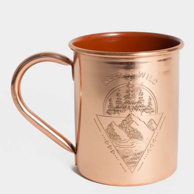 Keep It Wild Copper Mug