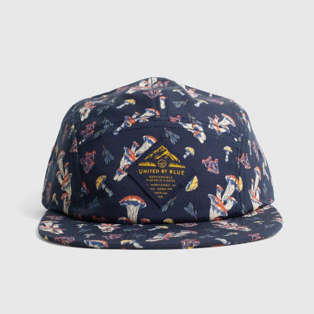 Mushroom 5 Panel Hat