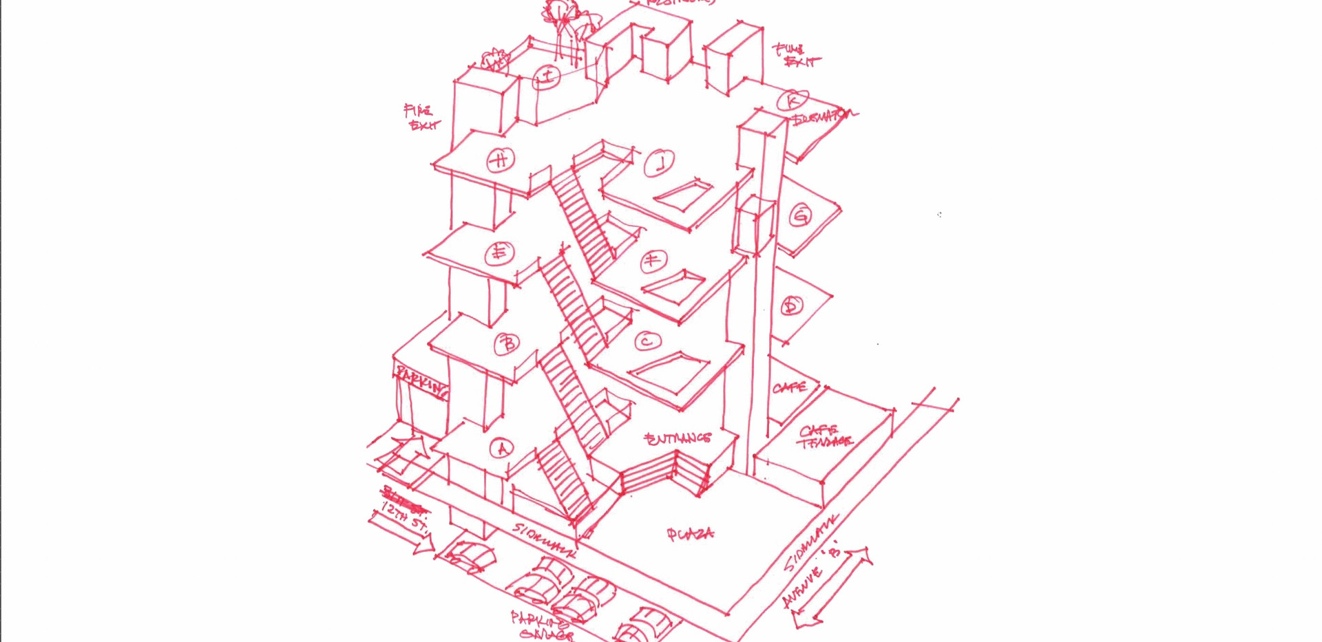 Preliminary Architectural Sketch