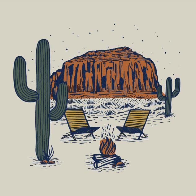 Desert Chill Graphic