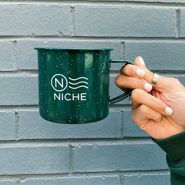 Niche Enamel Mug  - Product & Photography