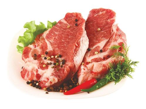 Шейка - стейк свиная 500гр