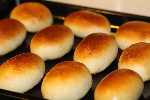 Пирожок с грибами и луком (6 шт)