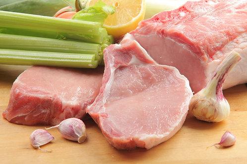 Корейка свиная на кости 500гр
