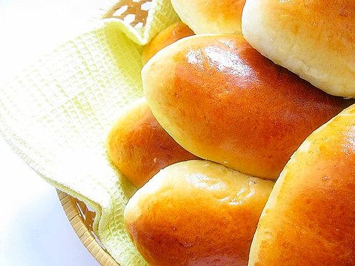Пирожок с картошкой, грудинкой и зеленью (6 шт)