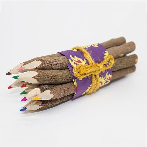 Natural Twig Colouring Pencils