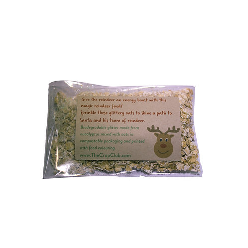 Reindeer Food with Eco Glitter