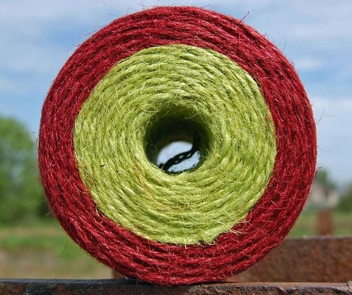 Red and Lime dual spool twine