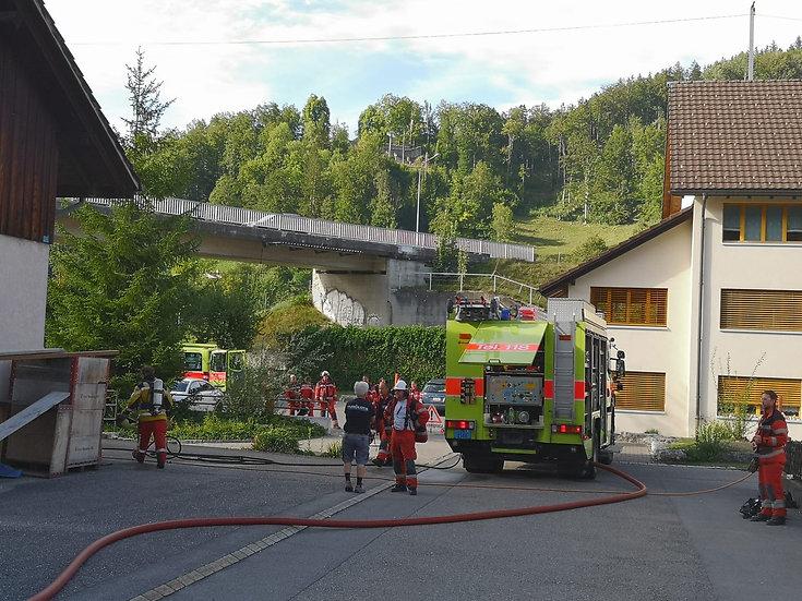 Brand Schreinerei (Bauma)