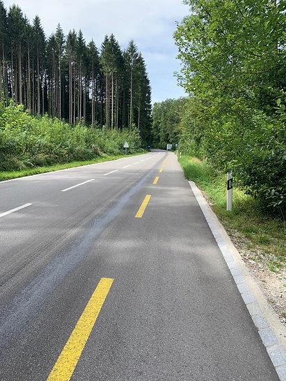 LKW verursachte ca. 3,5km lange Oelspur