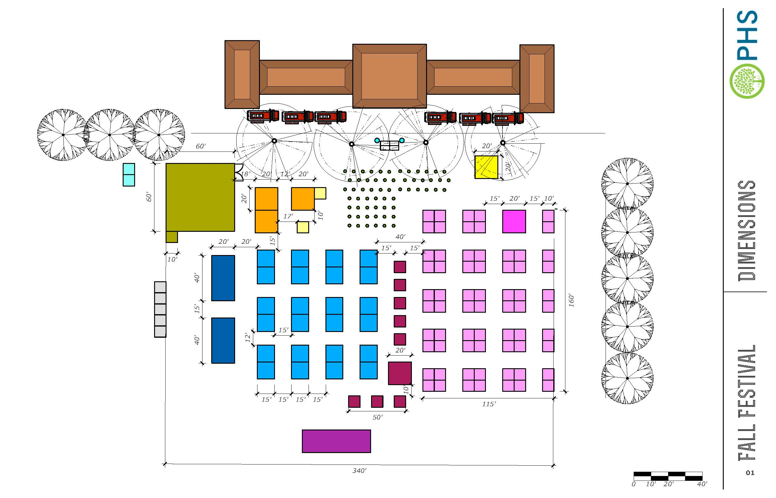 Fall Festival Layout