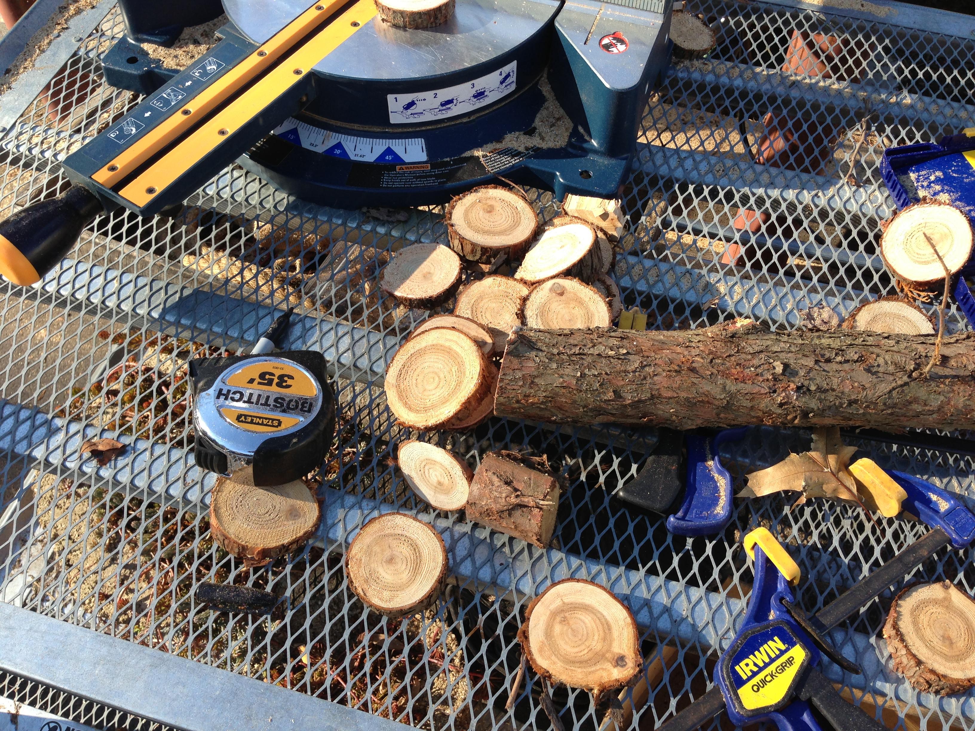 Wood Round Cuts