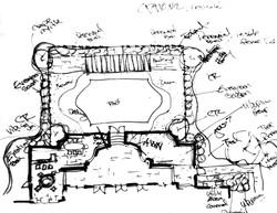 Patio Sketch
