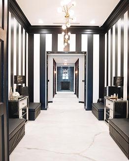 Blue Lion Salon Entry