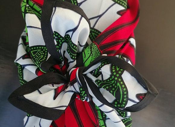 Furoshiki aux couleurs afircaines