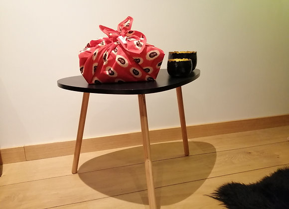 Furoshiki aux couleurs africaines