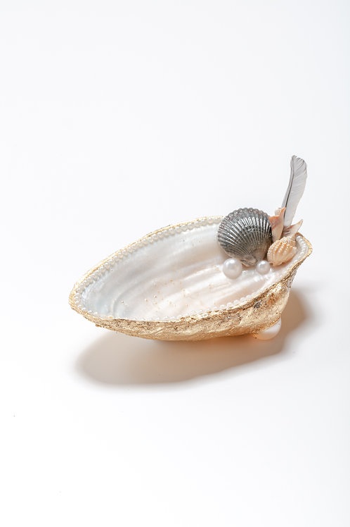 Large Shell - gold