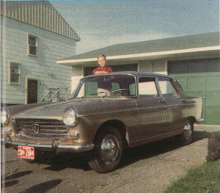 """""""A Peugeot 404 Family History"""" - Mike Tippett"""