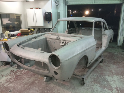Follow Mike Tippett's 1966 Coupe Renovation
