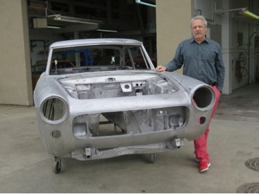 Tippett 404 Coupe Restoration