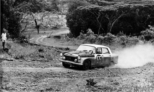 Nowicki-Cliff 1963 in East African Safari Race