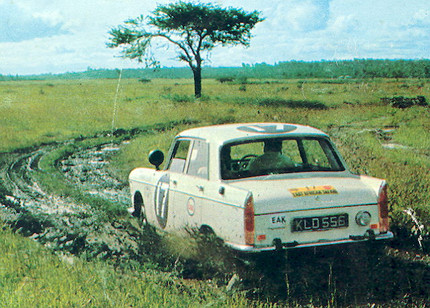 THE 404 IN THE EAST AFRICAN SAFARI