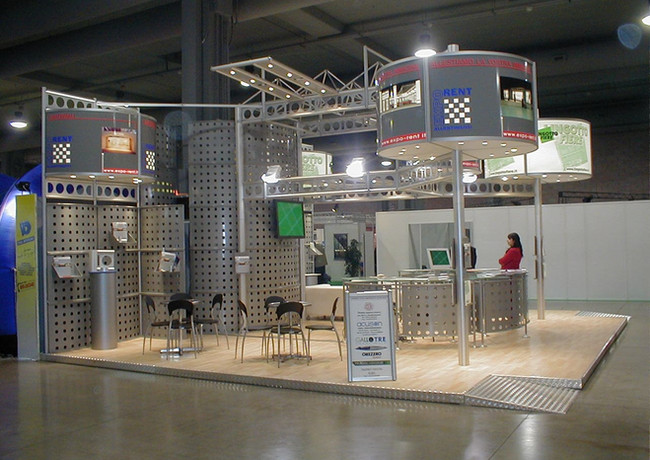 Allestimento FAST EVENTS Stand_ EXPORENT