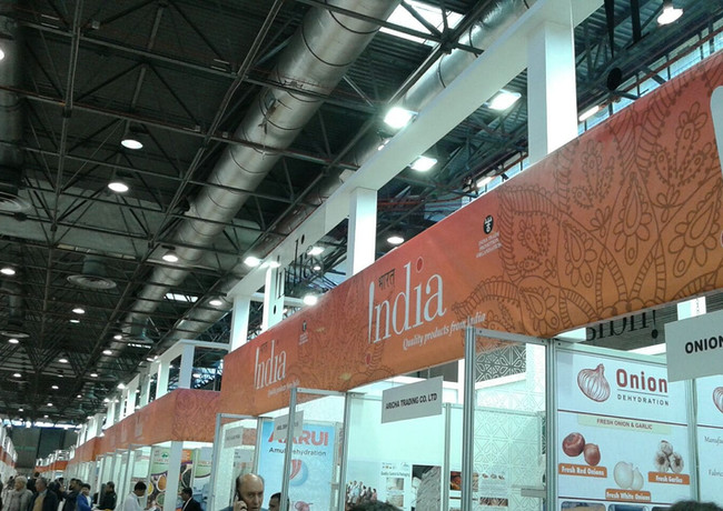 Allestimento FAST EVENTS Fiera_ SIAL 201