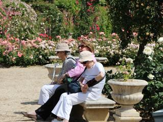 Petite pause à l'Hay les Roses