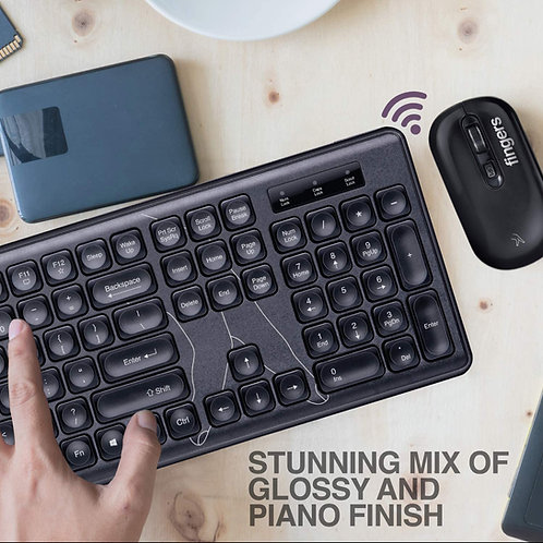 Finger's Fingers Exquisite Wireless Combo Slim Keyboard and Mouse