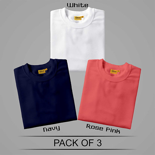 Pack Of 3 T-Shirt ( Combo )